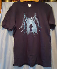 Gamer #7 T-shirt, Nerd Block, Nintendo Zelda Skull Boy, Cotton, Large