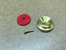 Solid Brass Grand/Baby Grand Piano Lid Support Cup w/Screw
