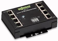 852-112 Wago Switch 8 Port 100 BASE-TX Industrie Switch