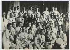 Rome, Mussolini avec Italo Balbo e autres au Palais Venezia, l'Académie d&#