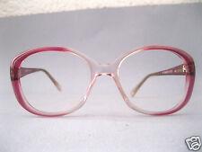 VINTAGE Damen Brille Brillenfassung Kunststoff pink Swiss by red Auflösung 6K