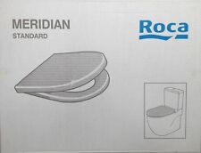 ROCA MERIDIAN STANDARD Toilet Seat & Cover with Soft Closing Hinges 8012A2004
