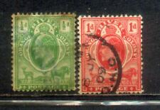 2 Old Orange River Colony (South Africa) Stamps
