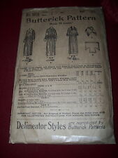 RARE 1898 BUTTERICK #1374 - LADIES CANTEEN UNIFORM OF NATIONAL LEAGUE PATTERN 10