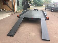 Car Trailer 15X6.6 FT Mechanical Disk Brakes with 12 Months Rego