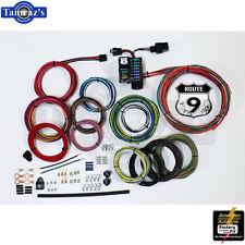 Custom Universal Hot Rat Rod Wiring Harness Kit - Route 9 Circuit Fusebox