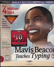 Sealed Vintage Software Mavis Beacons Teaches Typing Version 5 1997 CD-ROM