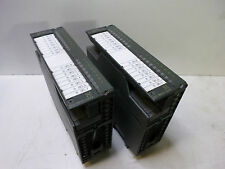SIEMENS S7-300 Qty of 2 - OUTPUT 16 Point MODULE  - 6ES7 322-1BH01-0AA0 READ