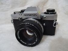 Olympus OM10 Film Camera & Olympus Zuiko 50mm F1.8  Lens auto s zuiko lens