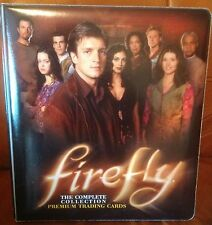 Firefly TV Series Ultra Rare Inkworks Padded Binder Mint Never Used Serenity