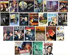 19 CULT FILM NOIR MOVIES on MP4 DVD-ROM *Orson Wells *Ed G Robinson *Peter Lorre