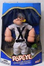 """RARE POPEYE THE SAILOR MAN MEZCO DELUXE 12"""" ACTION FIGURE DOLL NRFB MINT"""