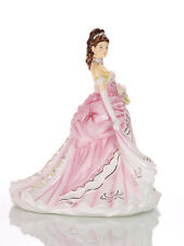 THE ENGLISH LADIES CO FAIRYTALE PRINCESS PINK DOLL FIGURINE, NEW AND BOXED