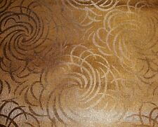Vinyl Faux Leather pearlized textured Swirl Galaxy Copper  Upholstery Car Sofa