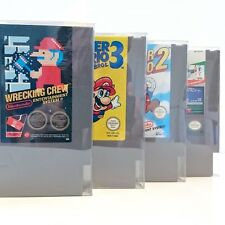 Strong & Light Plastic Cartridge Protectors for NES Game Paks (5 Pack)