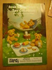 JEAN GREENHOWE KNITTING TOY PATTERN BOOK TOY COLLECTION