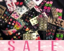 Wholesale Jewelry Lot - New Stud Earrings 💕200💕pairs FREE SHIPPING 💓💓💓💓💓