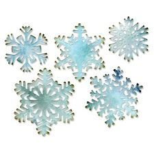 Tim Holtz Sizzix Thinlits Die ~ PAPER SNOWFLAKES ~ Alterations 660059