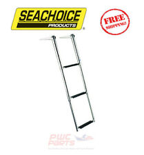 "SEACHOICE Boat Boarding Top Mount Ladder 3-STEP 34.5"" L Stainless Steel 71301"