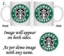 Personalisierte Starbucks-Kaffeetasse-Geschenk Geburtstag Weihnachten