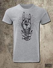 RIOT GRRRL fist illustration t-shirt subculture punk feminist indie rock metal
