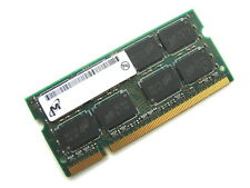 Micron mt16htf25664hy 2gb 2rx8 200-pin Sodimm Pc2-6400s-666 Ddr2 Laptop Memory