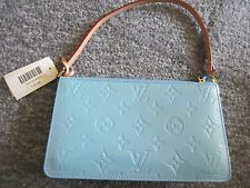 NWT Louis Vuitton Monogram Vernis Lexington Bleu/Tiffany Blue Bag M91011 & Box