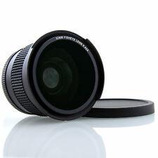 0.42x fisheye pescado ojo + macro 52mm para Canon EF 50mm f/1.8 II, 40mm f/2.8 STM