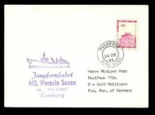 MARITIME HONG KONG PAQUEBOT CHINA...SHIP MS NORASIA SUSAN 1983