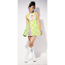 Appletini Mini Adult Dress Cosplay Holloween COSTUME For Holiday XS (0-2) NEW