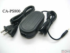 AC Adapter Supply Fo CA-PS800 Canon Powershot A570 A590 A710 A720 A1000 A1100 IS