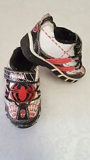 Size 6 Spiderman Light-Up Tennis Shoes Boy Athletic Sneakers