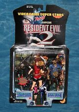 Capcom Claire Redfield and Zombie Cop Resident Evil 2 Action Figure