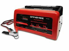 2/12/75 Amp 12 Volt Battery Charger Jump Engine Starter Car/Truck/Boat
