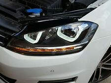 VW GOLF MK7 VII DRL BI XENON HEADLAMPS GTI DRL R20 R LINE GTD HEADLIGHTS LED UK