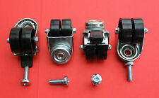 "Fusion Heavy Duty ROTELLE "" 1 set di quattro"" NUOVO!"