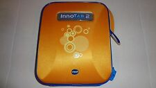Genuine Vtech InnoTab 2 Zippered Storage Tote/Case Orange/Blue