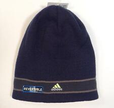 Adidas ClimaWarm Reversible Blue & Gray Beanie Skull Cap Adult One Size NWT