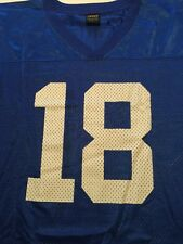 Peyton Manning Colts Jersey 18 Nike Medium Blue Mesh