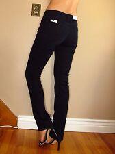 Seven 7 For All Mankind $178 Karah Straight Leg Jeans Black Night Rinsed 27 NWT