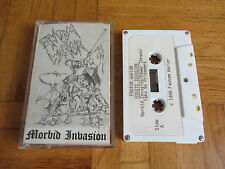FANTOM WARRIOR Morbid Invasion RARE 1986 DEMO Cassette Tape Thrash Metal