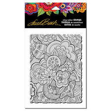 LAUREL BURCH RUBBER STAMPS CLING CARLOTTAS GARDEN NEW cling STAMP