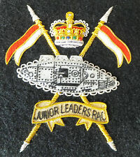 Junior Leaders Regiment Royal Armoured Corps Blazer Badge (New)