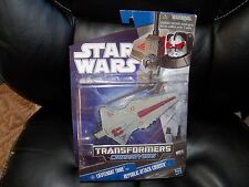 NEW Star Wars Transformers Figure - Lieutenant Thire with Republic Attack Cruise