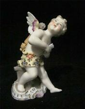 Continental Porcelain Cherub Cupid with Wings and Arrows AF