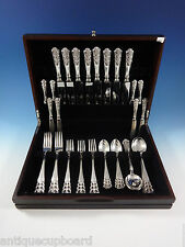 NORRONA BY DAVID ANDERSEN NORWEGIAN STERLING SILVER FLATWARE SET SERVICE