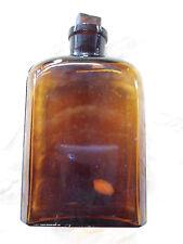 Vintage Czech Army Glass Medical Bottles (empty)