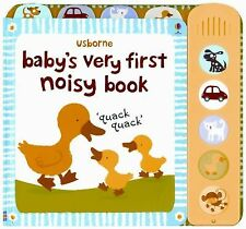 Baby's Very First Noisy Book (Usborne Baby's Very First)