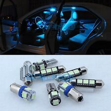 Canbus Ice blue 11 Lights SMD LED 12V Interior kit For BMW 1 Series E81 E82 E87