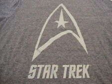Star Trek Symbol Comic Books TV Show Sci-fi Soft Blue T Shirt L